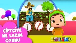 Leliko Bölüm 29 - Çiftçiye Ne Lazım Oyunu - Çizgi Film | Düşyeri