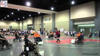 32nd Annual National Veterans Wheelchair Games - Power Soccer