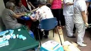 Mahjong Addicts Play on As Old Man Dies