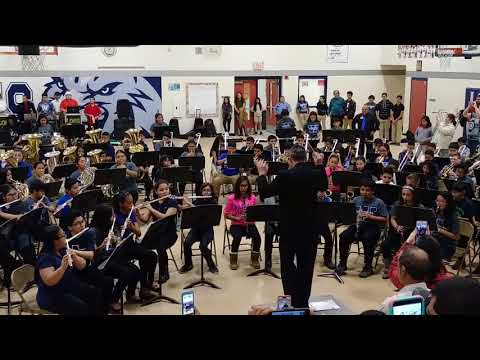 Los Obispos Middle School Band
