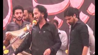 Majlis Zakir Malik Sajid Hussain Rukan  jalsa 8 oct  2013 Zargham shah