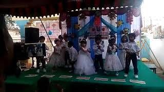 lKG, UKG dances from Vani English medium High school.