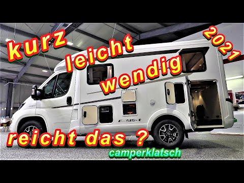 Hymer EXSIS-T 374 💥Modell 2021💥 Wohnmobil mit Längsbetten unter 6 m💥 Camper Van Test Review Roomtour