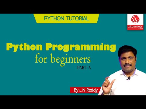 Float in JUST 15 Minutes | Python Tutorial | Python Programming | Part 6 | Wisdom Jobs thumbnail