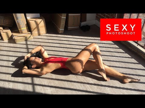SEXY PHOTOSHOOT | RARE BEHIND THE SCENES