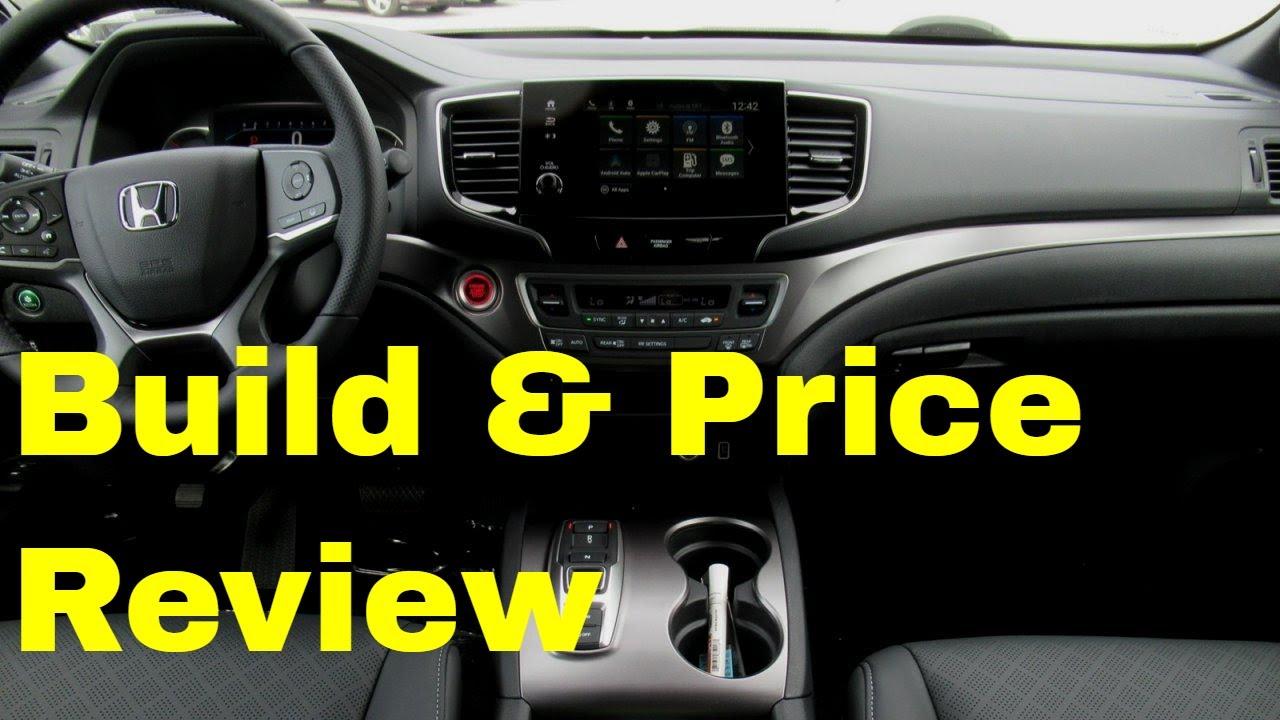 Honda Build And Price >> 2019 Honda Passport Ex L In Platinum White W Black Leather Build