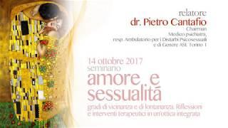 Amore & Sessualita 2017: Dr. Cantafio - 1