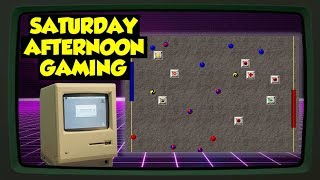 Mortal Pongbat (Mac) (feat. Jordan) - An Obscure Mac Classic! - Saturday Afternoon Gaming
