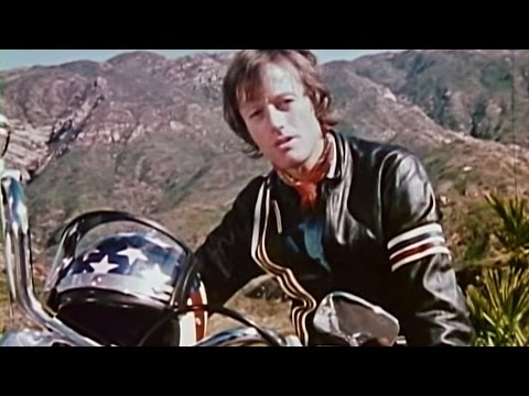 A motorcycle safety video narrated by Peter Fonda and featuring Evel Knievel