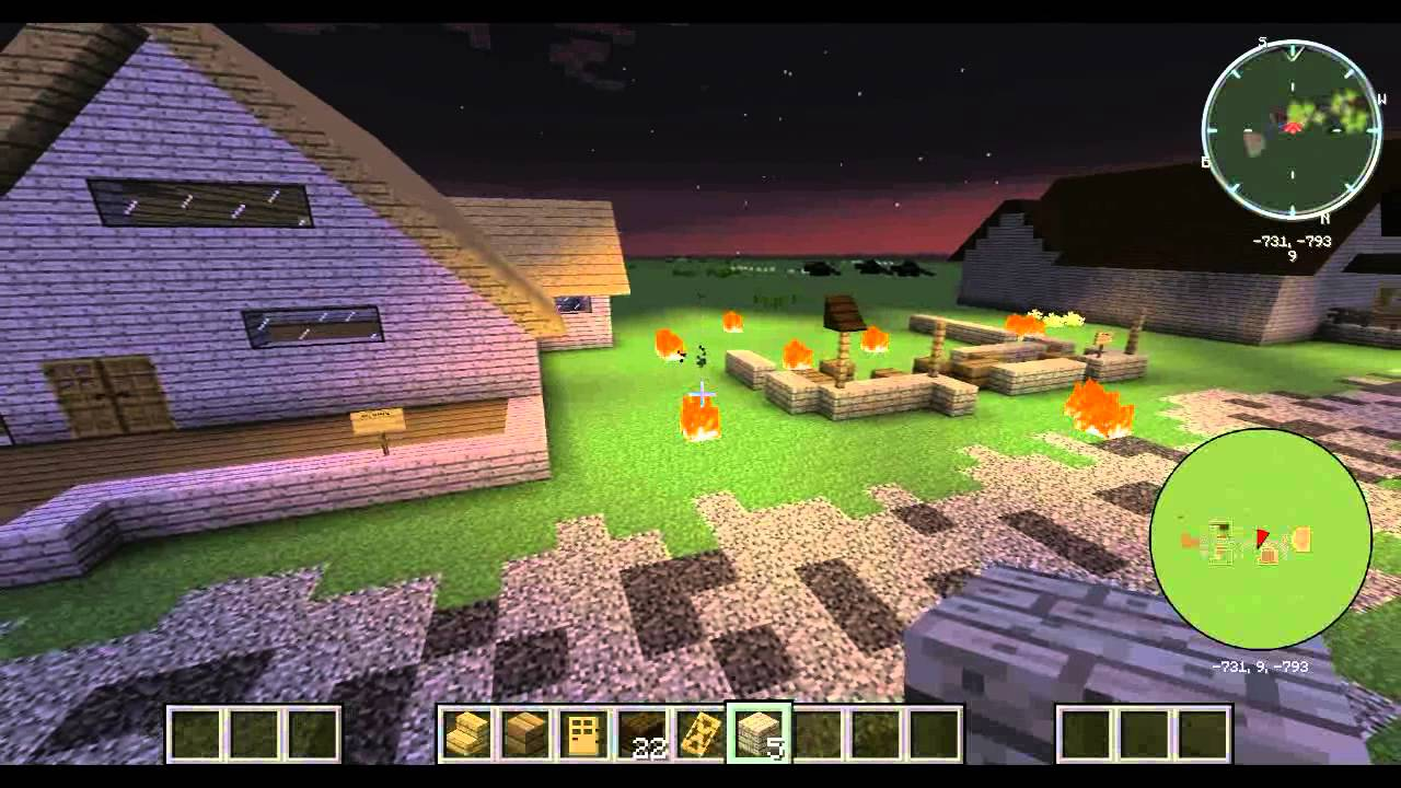minecraft map of maycomb - YouTube