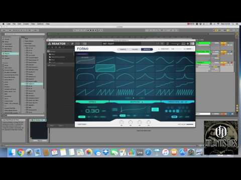 Creative Sampling & Sound Design with Native Instruments Form (Bowed Guitar)  + Samples