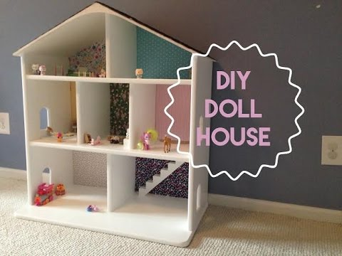 How to build a wooden dollhouse youtube for Custom build your own home