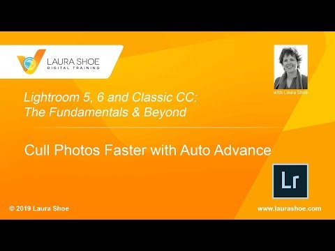 Cull Photos Faster in Lightroom Classic with Auto Advance