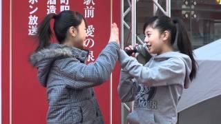 Fairies ☆ 2011.12.24 有楽町駅前 愛の泉ステージ リハ Sweet Jewel