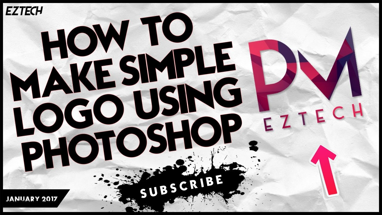 how to create a simple logo in photoshop cs5