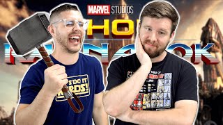 My friend watches THOR: Ragnarok for the FIRST time || MCU Phase 3