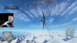 BFV - Spitfire MK VA | A2A combat | Fjell 652