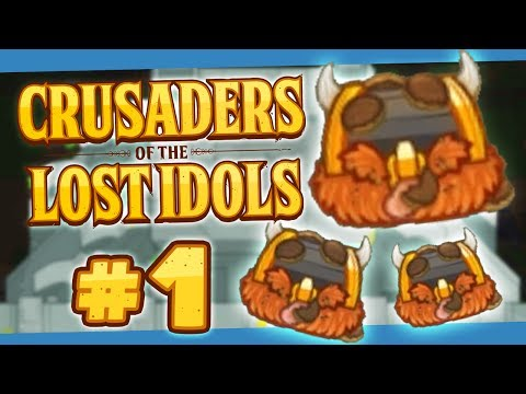 Crusaders of the Lost Idols #1 - The Quest To Unlock Myself
