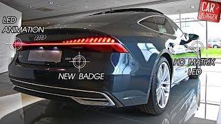 INSIDE the NEW Audi A7 55 TFSI 2018 | Interior Exterior DETAILS w/ REVS