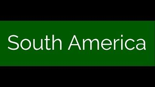 Countries and capitals quiz - South America