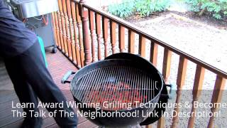 Become A Pro Griller | How To Control The Temperature On A Charcoal Grill