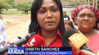 Familias beneficiadas con viviendas dignas en el municipio Santiago Mariño 15-05-2014
