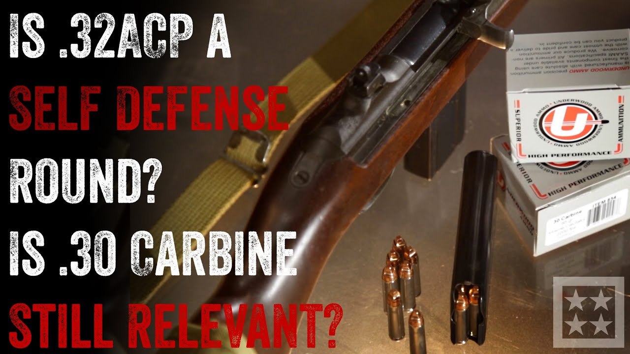 is 32 acp viable for self defense youtube