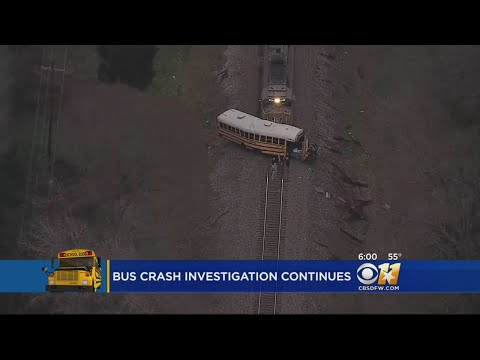 13-Year-Old Dead, Young Girl Critically Injured In School Bus, Train Collision