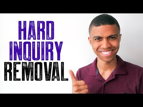 HARD INQUIRY REMOVAL || NO ACCOUNT NAMES