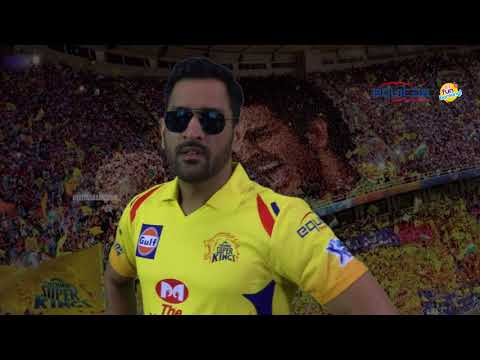 Kaala Teaser | CSK Version | FT. MS Dhoni