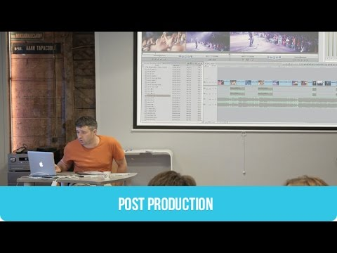Post Production in Cinema