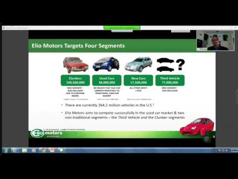 Paul Elio presents to the Securities and Exchange Commission