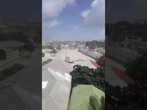 Mogadishu BREAKING:Second massive explosion occurred in #Mogadishu near presidential palace.