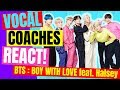 👀 BTS Reaction... BTS Boy With Luv  feat. Halsey - Vocal Coach Reaction BTS 방탄소년단