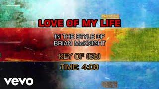 Brian McKnight Love Of My Life Karaoke