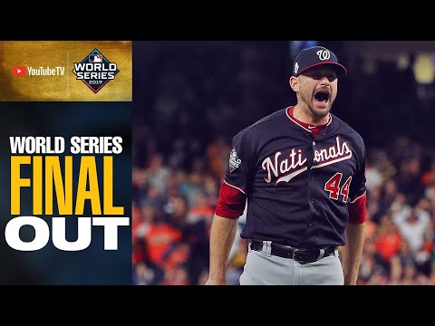 Washington Nationals get final out to win the 2019 World Series!