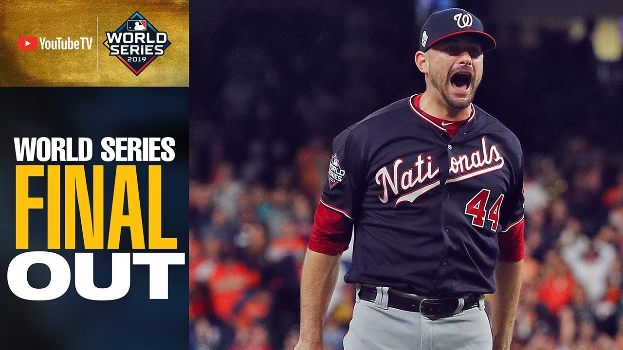 Download Washington Nationals get final out to win the 2019 World Series!