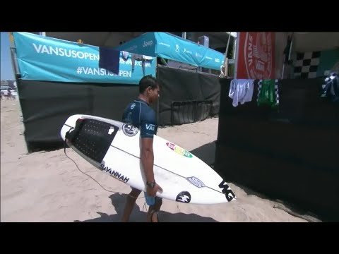 Vans US Open Of Surfing - Men's, Men's Qualifying Series - Round 1 Heat 8