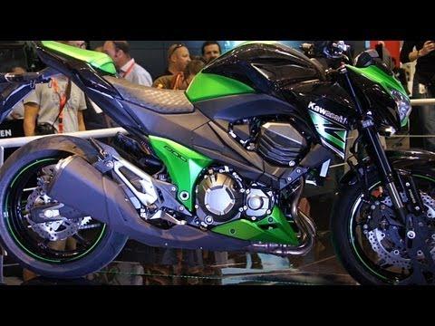 Kawasaki Z800 2013 Präsentation & Details - Intermot Köln 2012