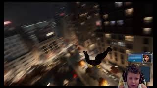 SPIDER MAN PS4 AO VIVO