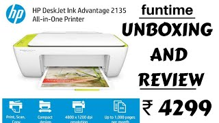 HP DeskJet Ink Advantage 2135 All-in-One Printer Review and Unboxing must watch before buying