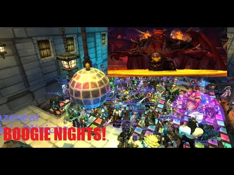 Kil'jaeden is up all night to get lucky! (Auction House Dance Party)