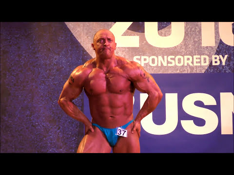 Mark Griffiths – Competitor No 37 – First Timers – NABBA Midlands 2016