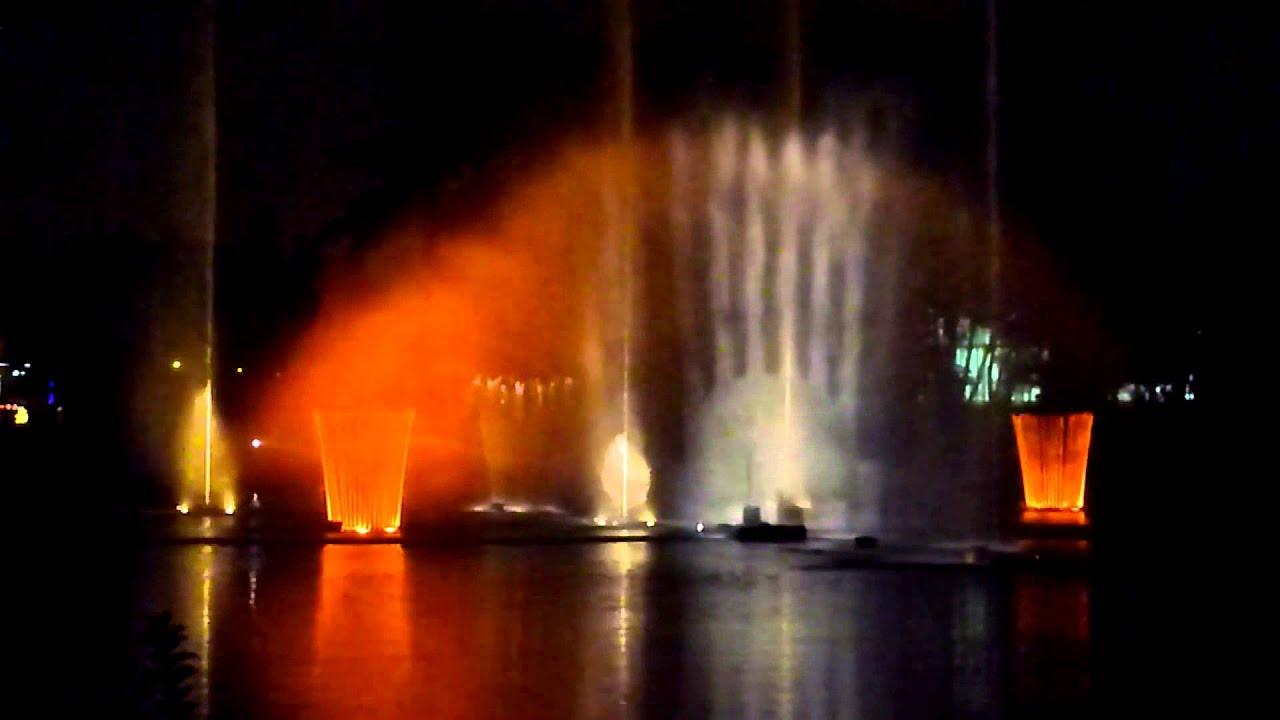 Show de agua luz y m sica en la ruta de la navidad 2013 Ruta de la navidad 2016
