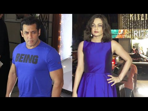 Salman Khan EX-GF Aishwarya Look Like Sneha Ullal UNRECOGNIZABLE at Avi Mittal Diwali Party 2018