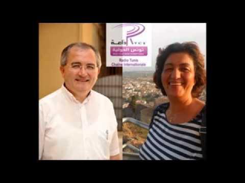 Samia Ksibi & Francesco Fiorino sur RTCI (Radio Tunis Chaîne Internationale)