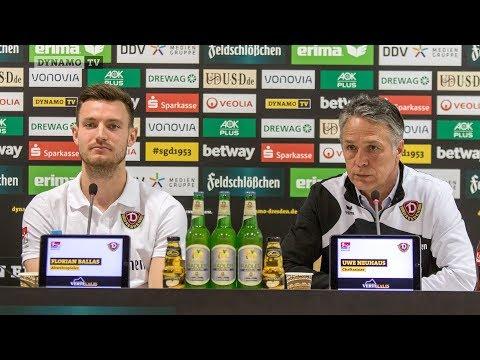 19. Spieltag | SGD - FCSP | Pressekonferenz vor dem Spiel