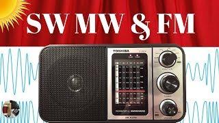 Toshiba TY-HRU30 Radio | Daytime Shortwave MW FM