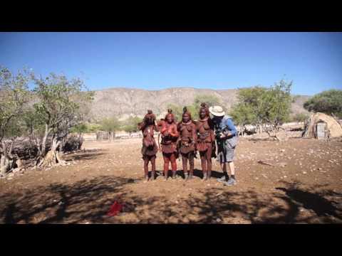 Peter Boshuijzen photographing Himba Namibia