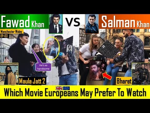 MAULA JATT 2 Or BHARAT | Which Movie Europeans May Watch | White People On Fawad Khan & Salman Khan